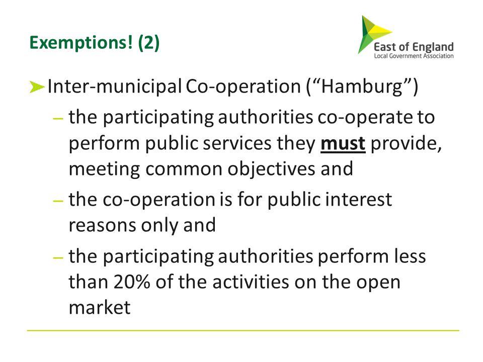 Inter-municipal Co-operation ( Hamburg )