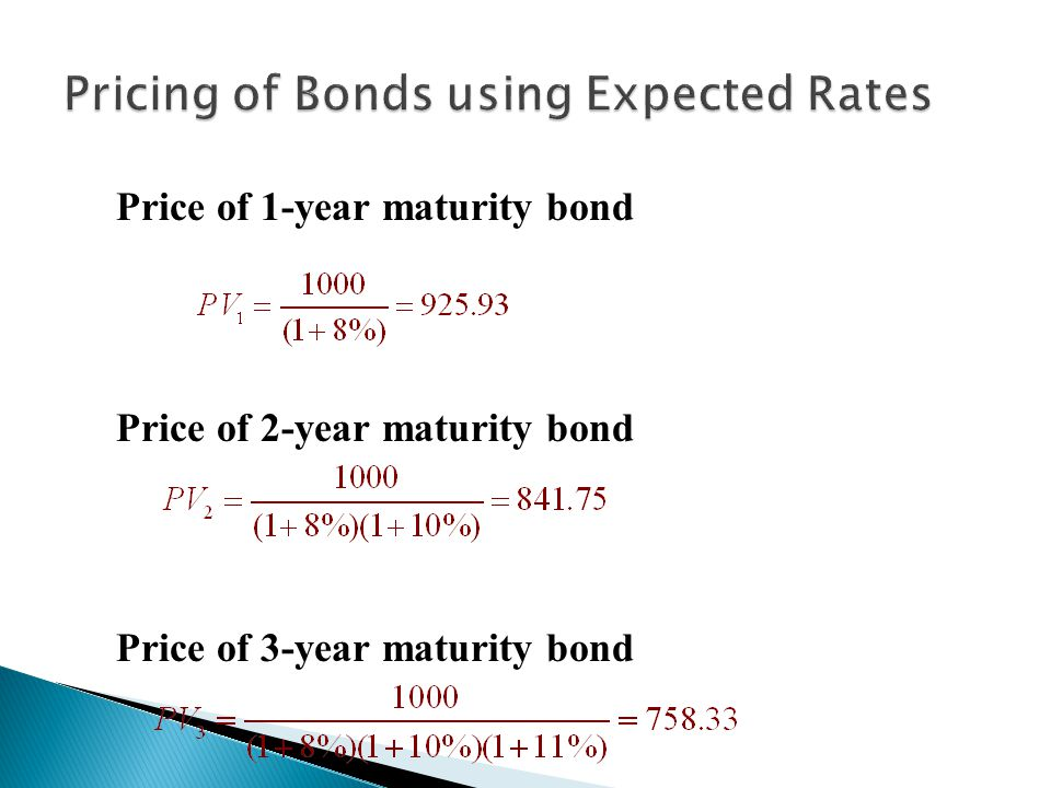 yield to maturity ytm of various maturities Maturity (year) price 1 9434 2 89847 3 84762 4 79216 this is various maturities of a zero-coupon bonds price, how to find yield to maturity to each bond and the implied sequence of forward rates.