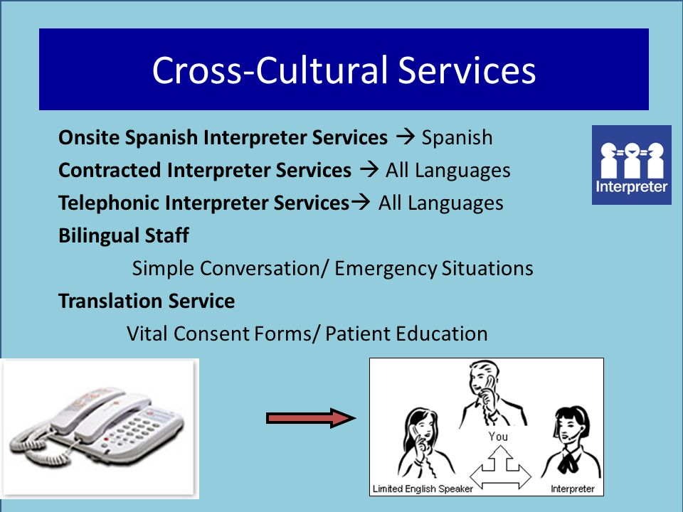 Cross-Cultural Services