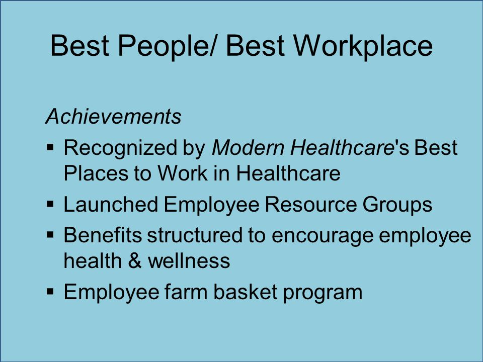 Best People/ Best Workplace