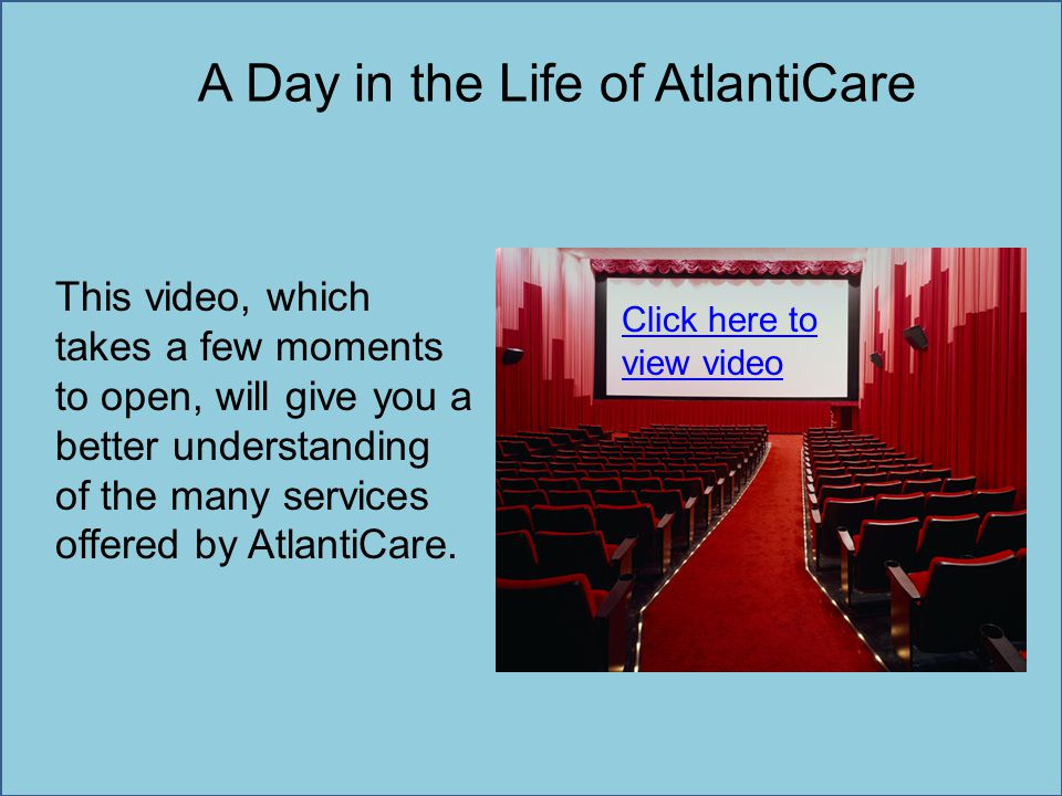 A Day in the Life of AtlantiCare