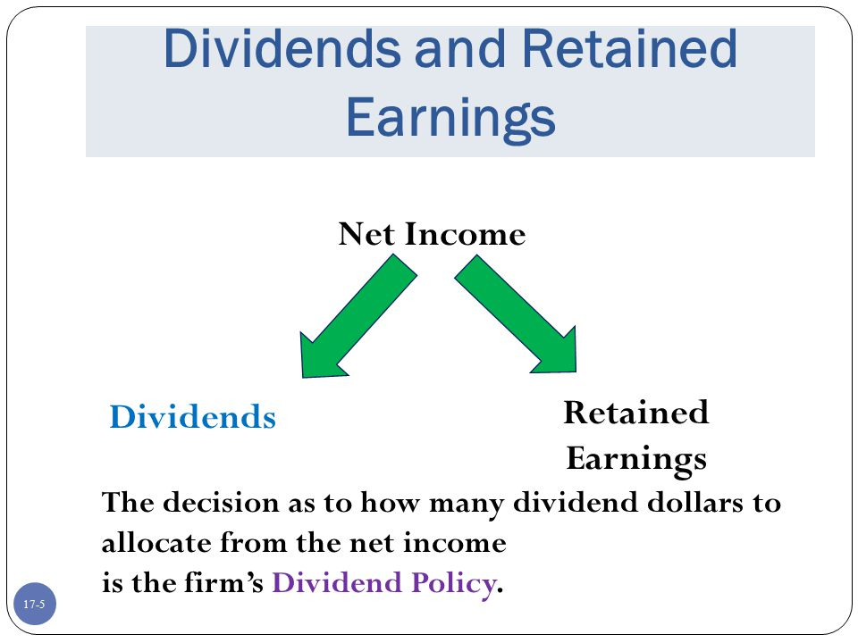 Dividends and Retained Earnings