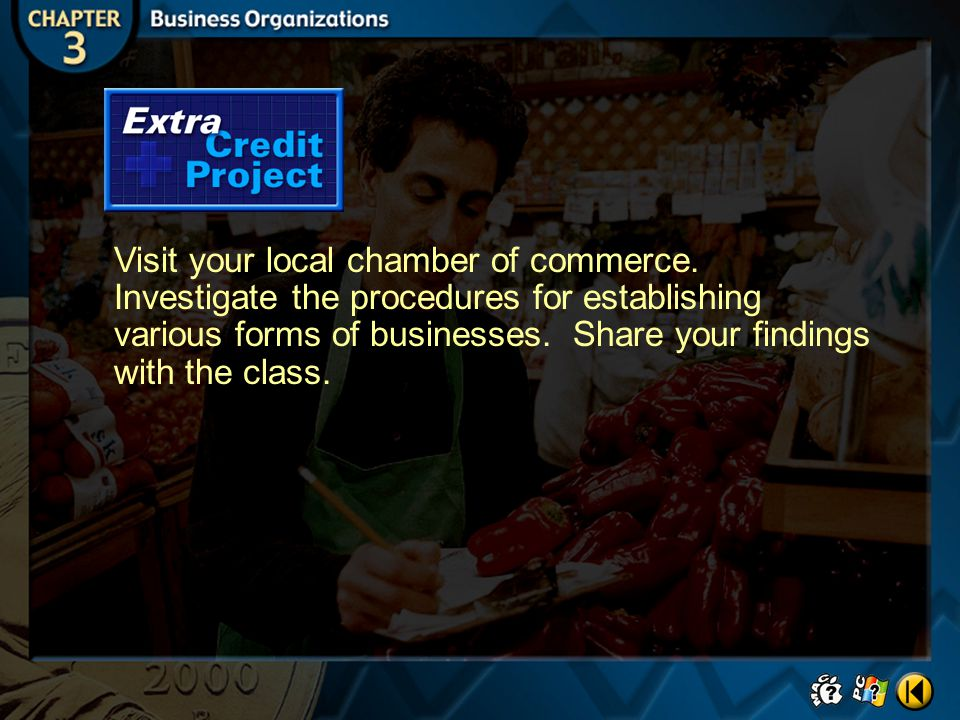 Visit your local chamber of commerce