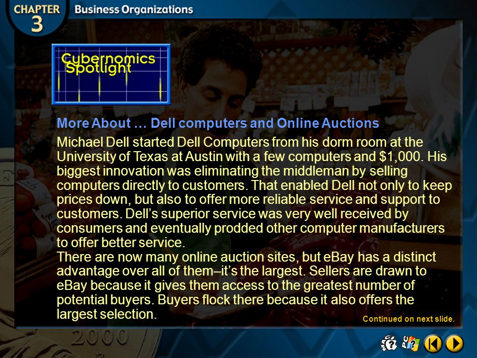 More About … Dell computers and Online Auctions