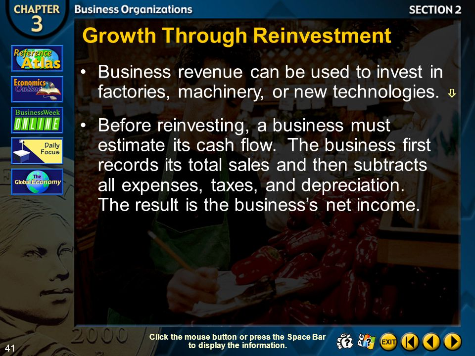 Growth Through Reinvestment
