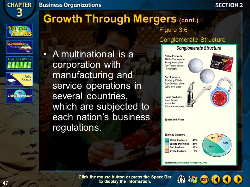 Growth Through Mergers (cont.)