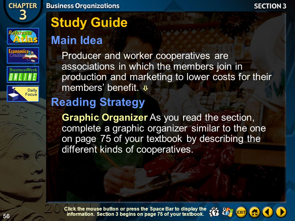 Study Guide Main Idea Reading Strategy