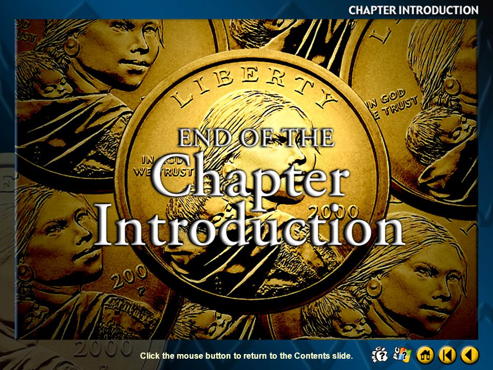 End of Chapter Introduction