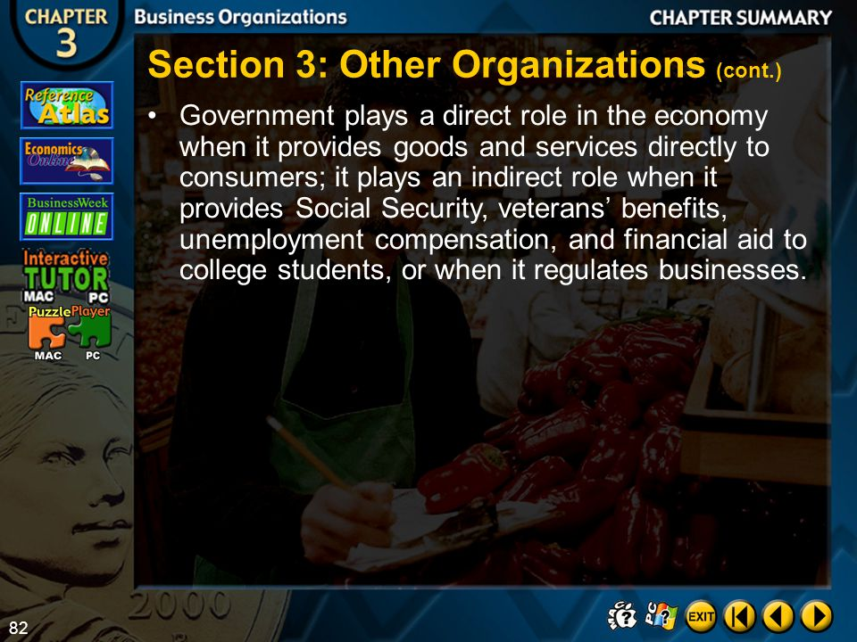 Section 3: Other Organizations (cont.)
