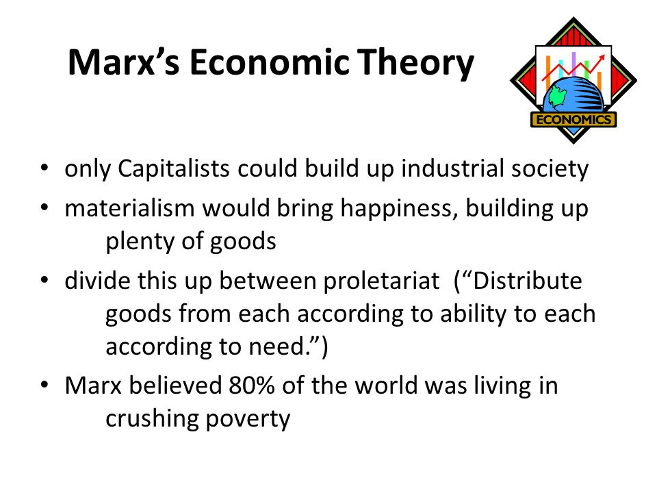 Marx's Economic Theory