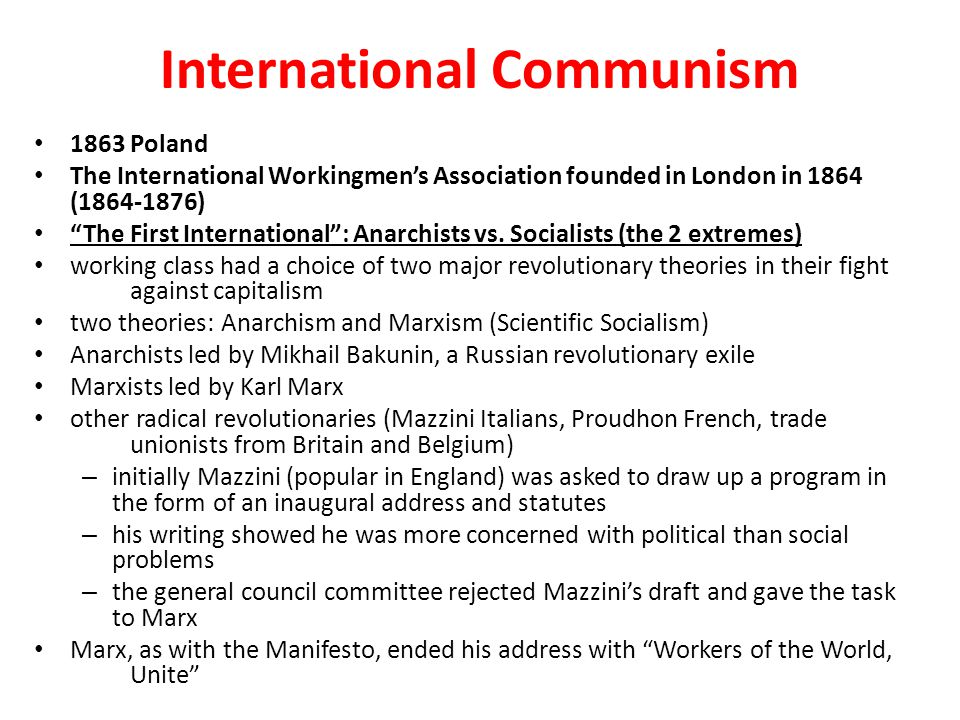 International Communism