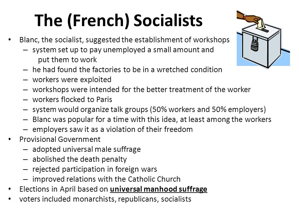 The (French) Socialists