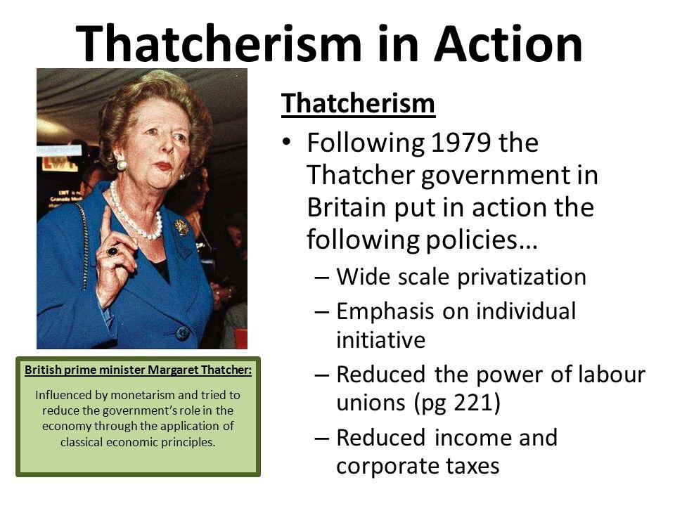 British prime minister Margaret Thatcher: