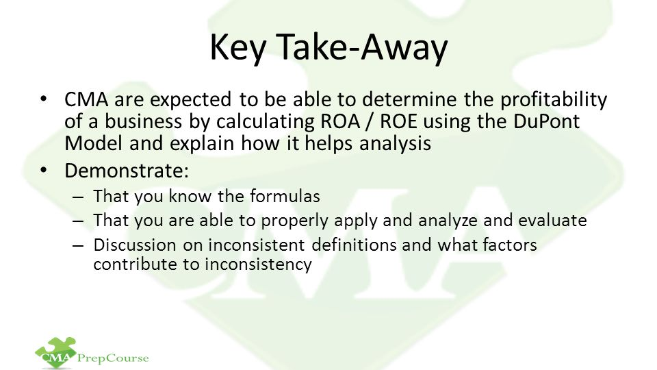 Key Take-Away