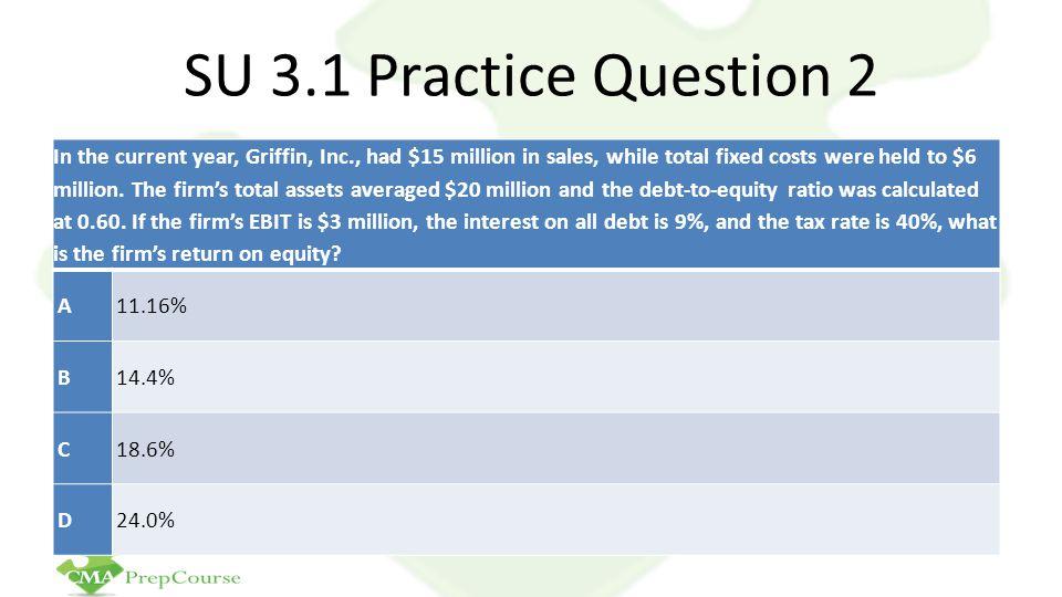 SU 3.1 Practice Question 2