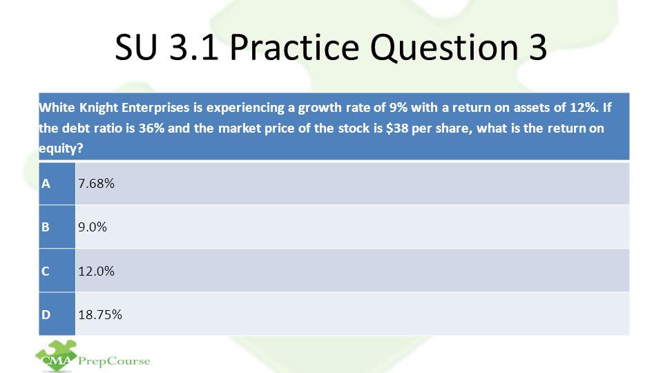 SU 3.1 Practice Question 3