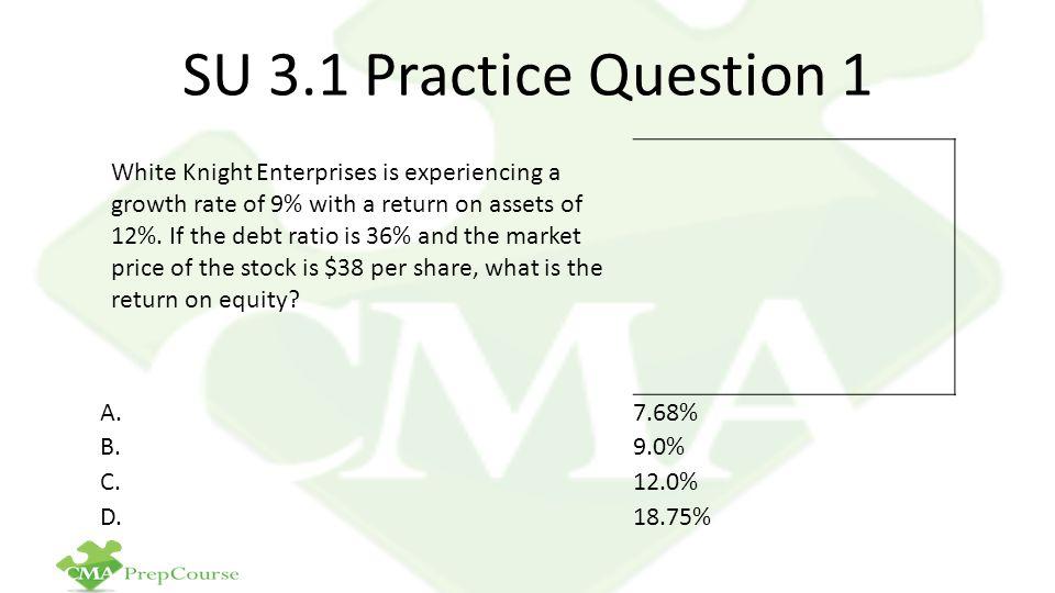 SU 3.1 Practice Question 1