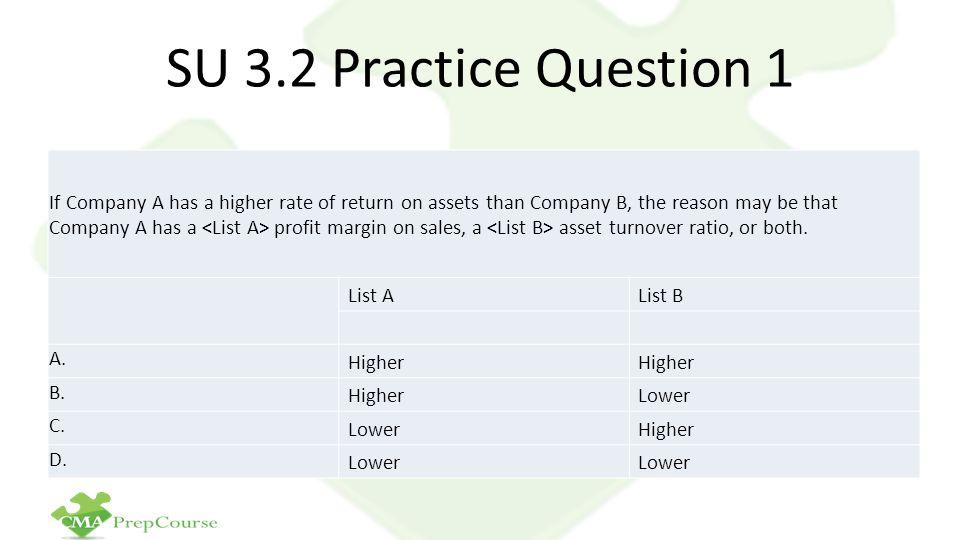 SU 3.2 Practice Question 1