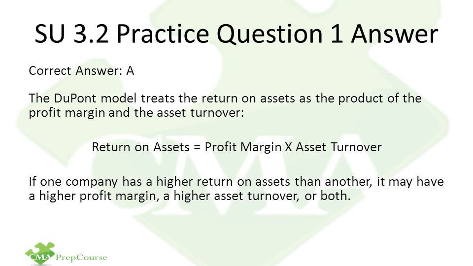 SU 3.2 Practice Question 1 Answer