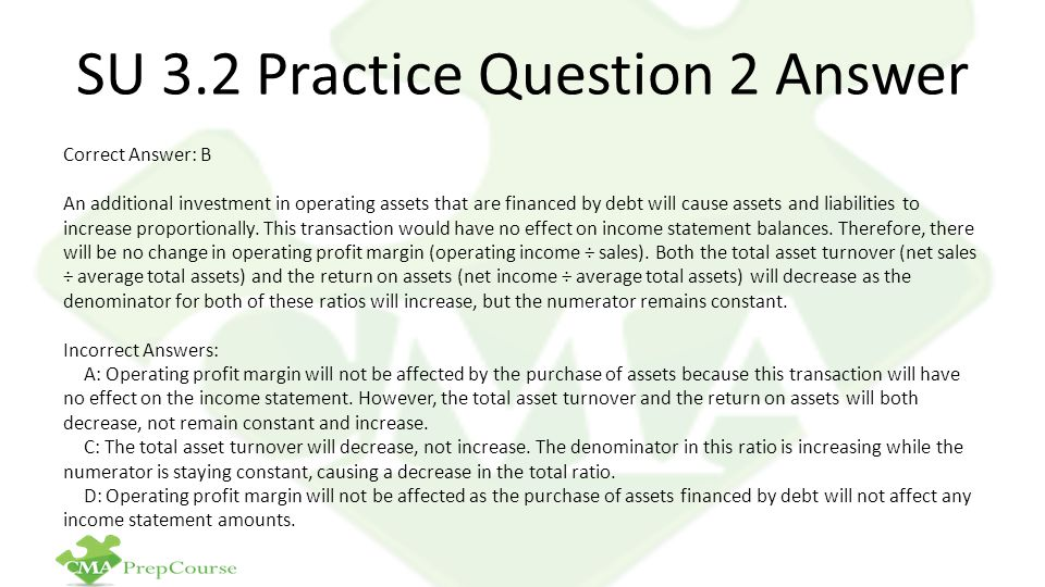 SU 3.2 Practice Question 2 Answer