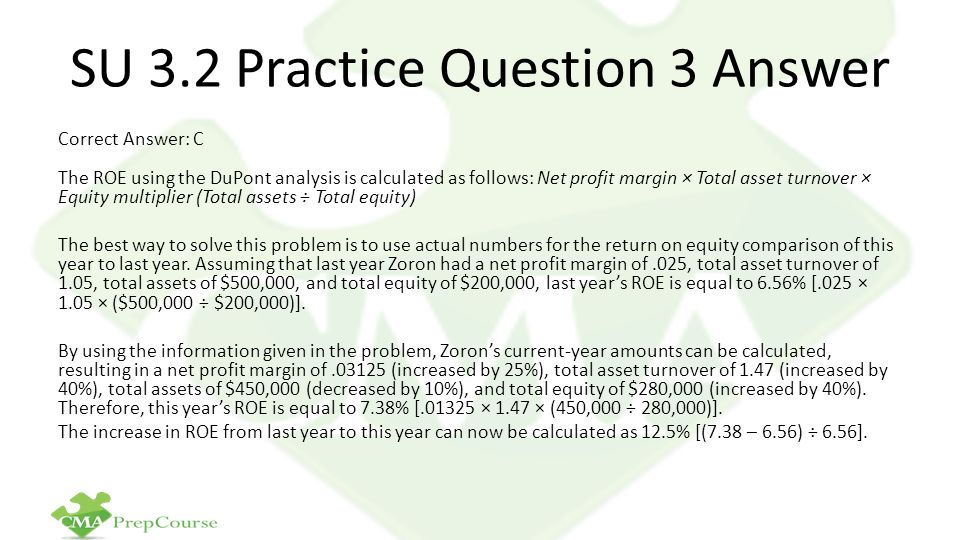 SU 3.2 Practice Question 3 Answer