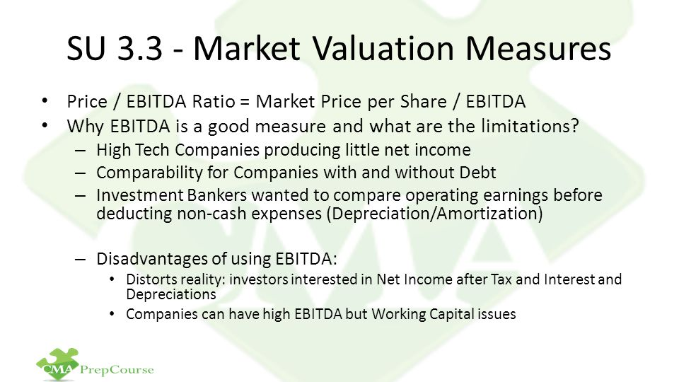 SU 3.3 - Market Valuation Measures
