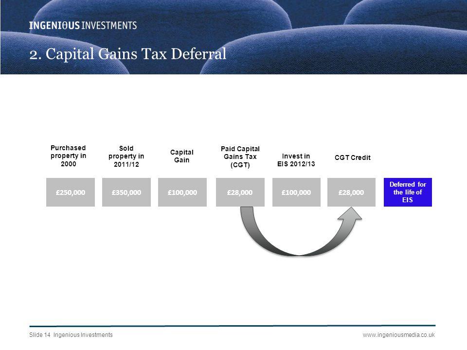 3. Inheritance Tax Planning
