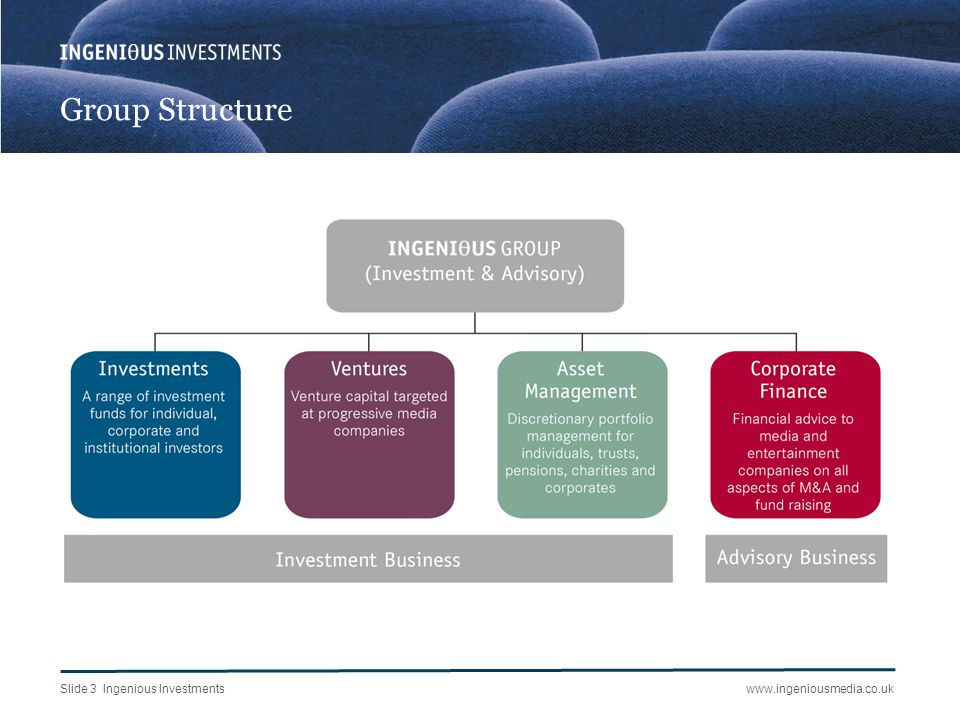 Background to the Venture Capital Initiatives