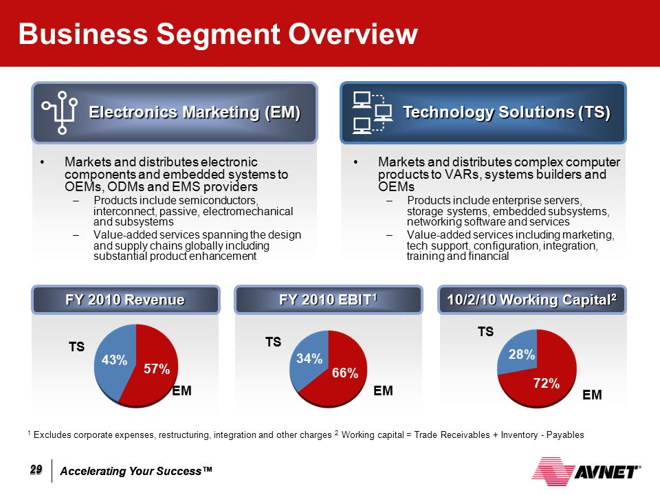 Business Segment Overview