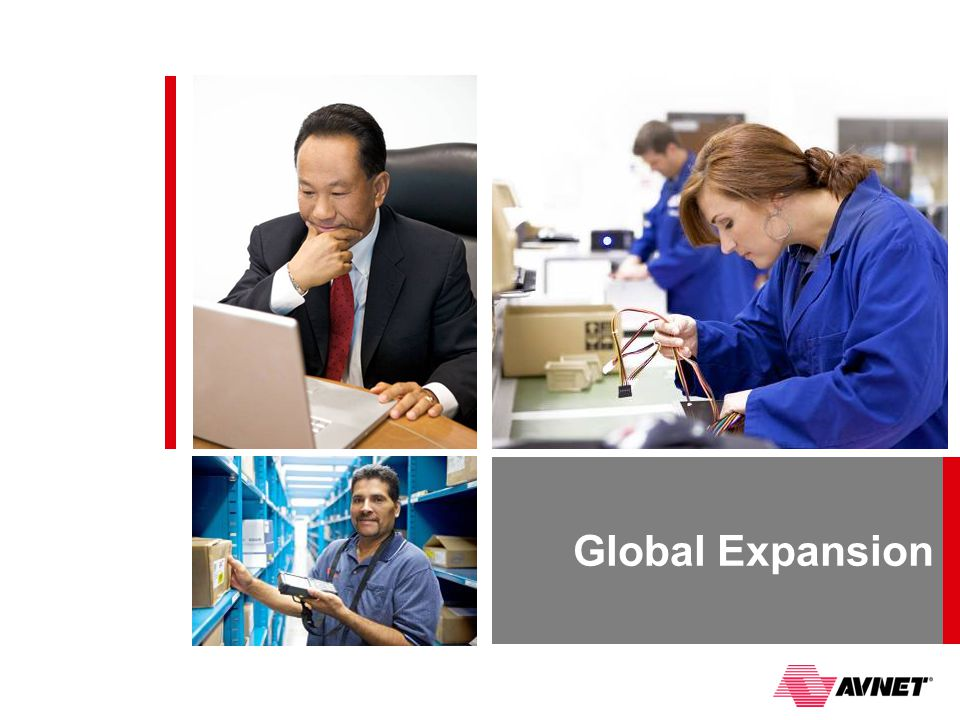 Global Expansion NEXT SLIDE: GOING WHERE THE GROWTH IS