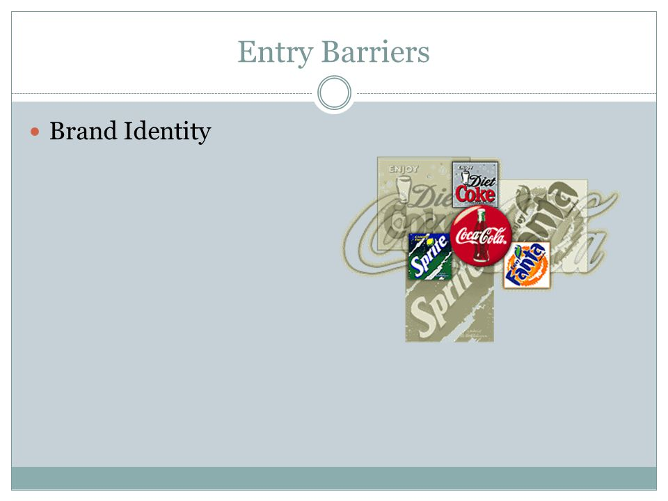Entry Barriers Brand Identity