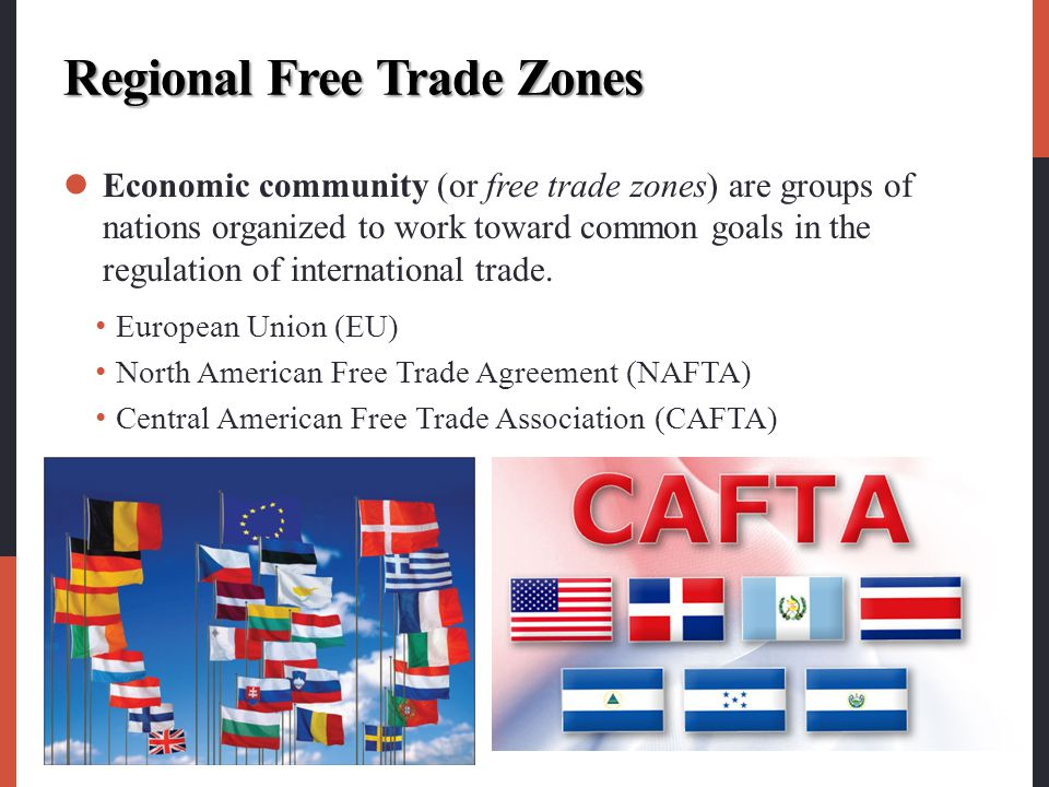 Regional Free Trade Zones