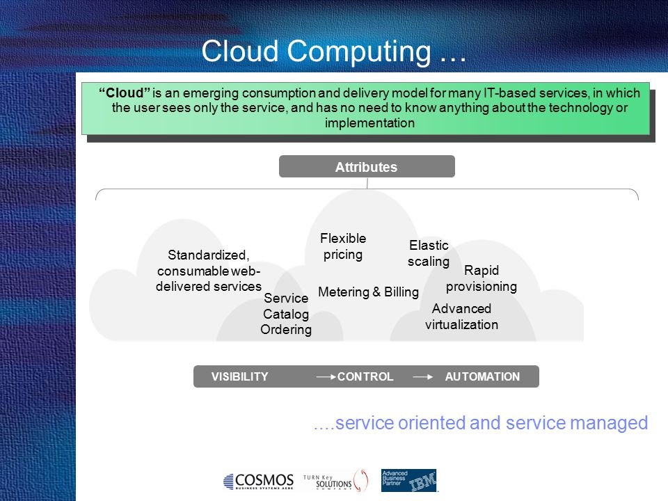 Cosmos Business Systems & IBM Hellas VISIBILITY CONTROL AUTOMATION