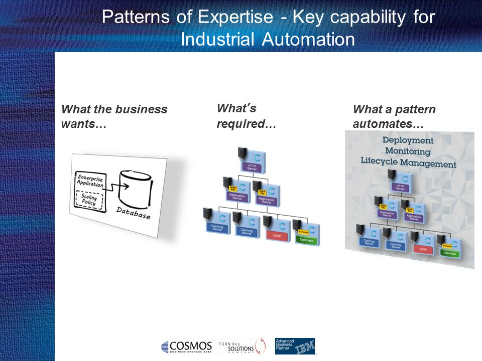 Patterns of Expertise - Key capability for Industrial Automation