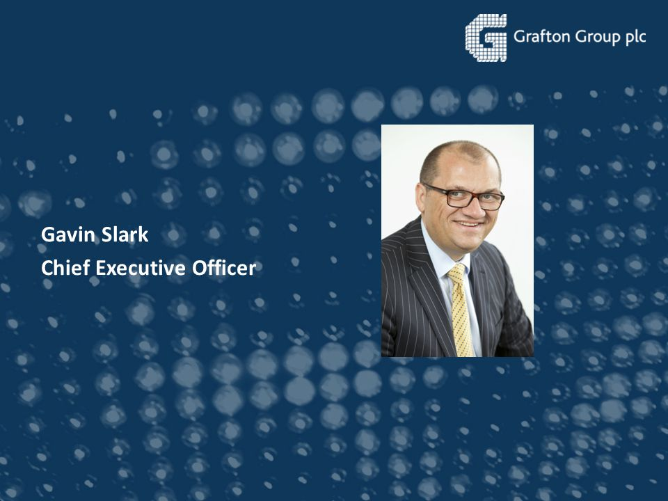 Gavin Slark Chief Executive Officer