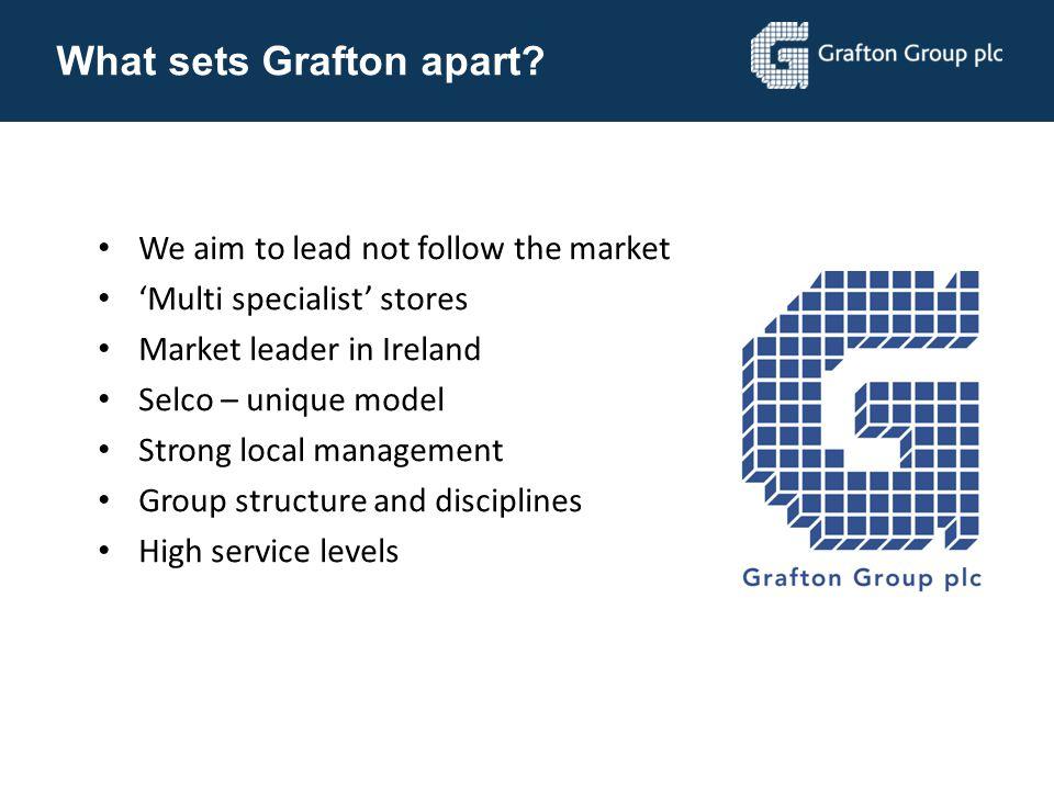 What sets Grafton apart