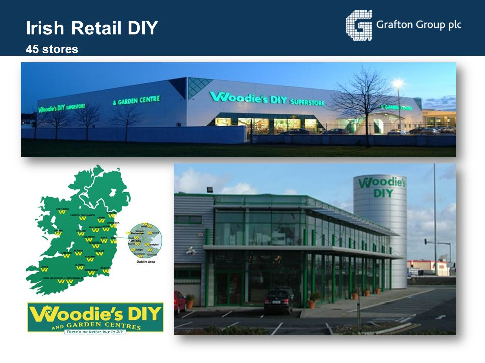 Irish Retail DIY 45 stores Irelands leading DIY retailer
