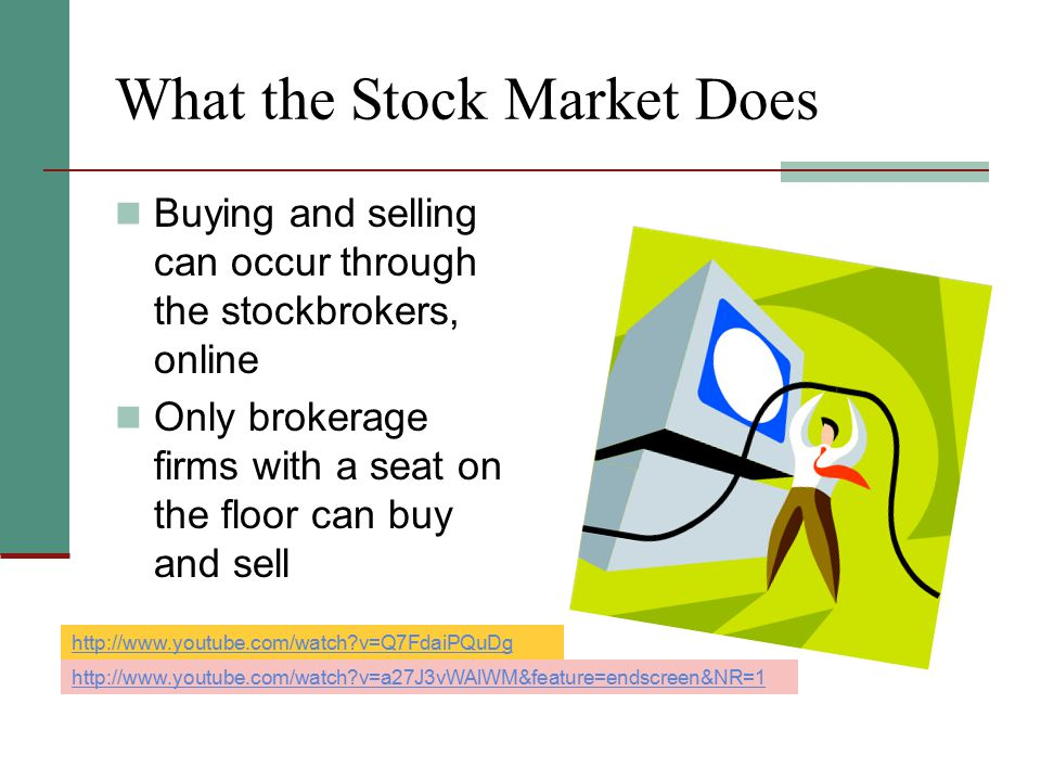 What the Stock Market Does