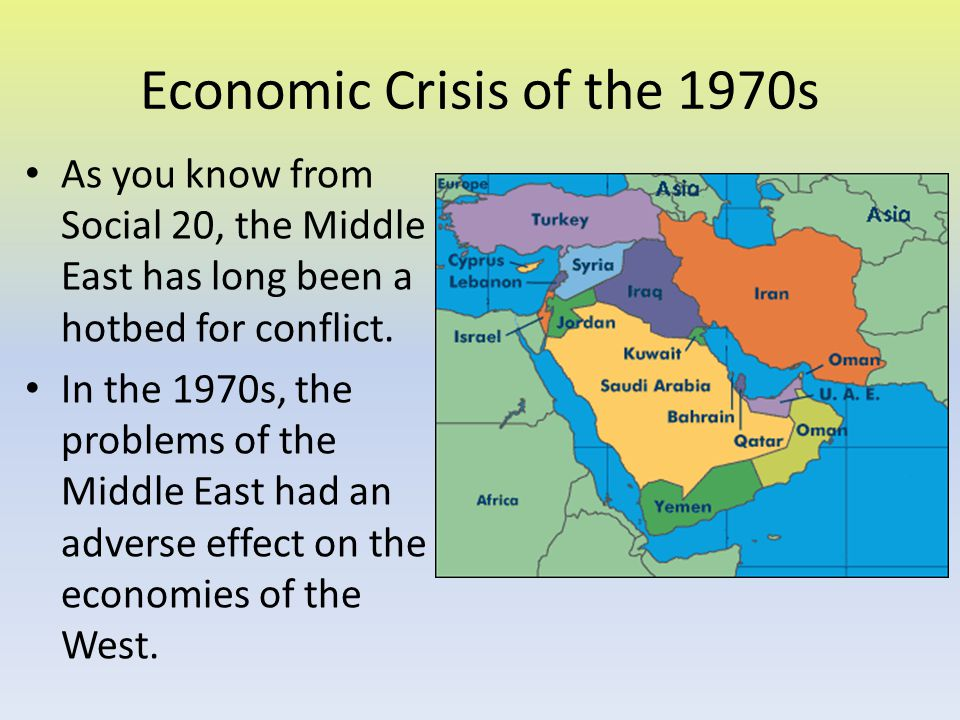 Economic Crisis of the 1970s