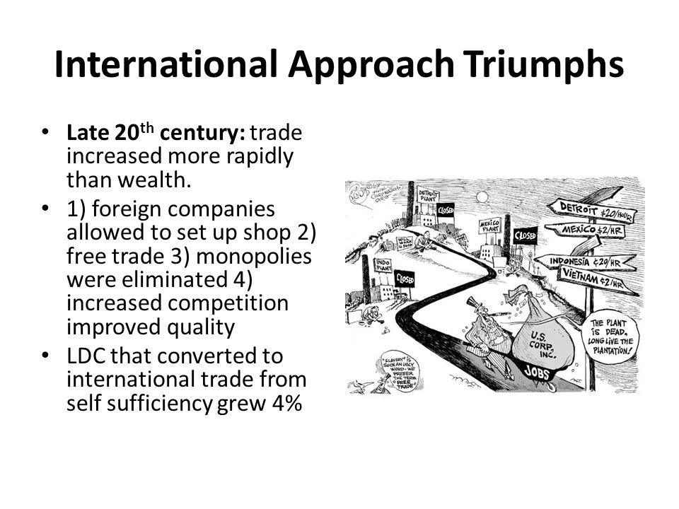 International Approach Triumphs