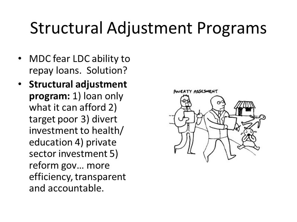 Structural Adjustment Programs
