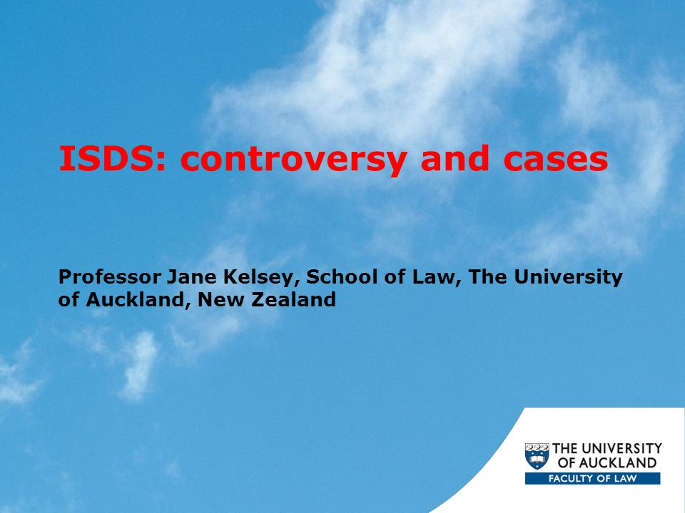 ISDS: controversy and cases