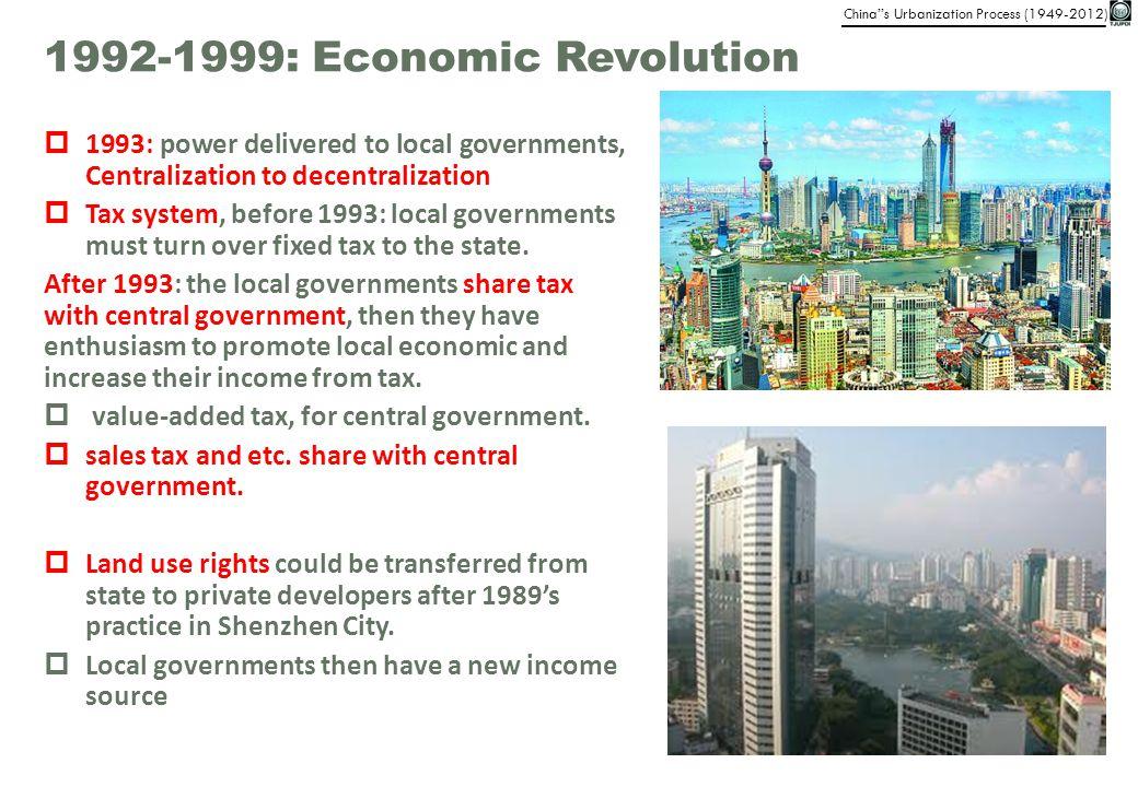 1992-1999: Economic Revolution