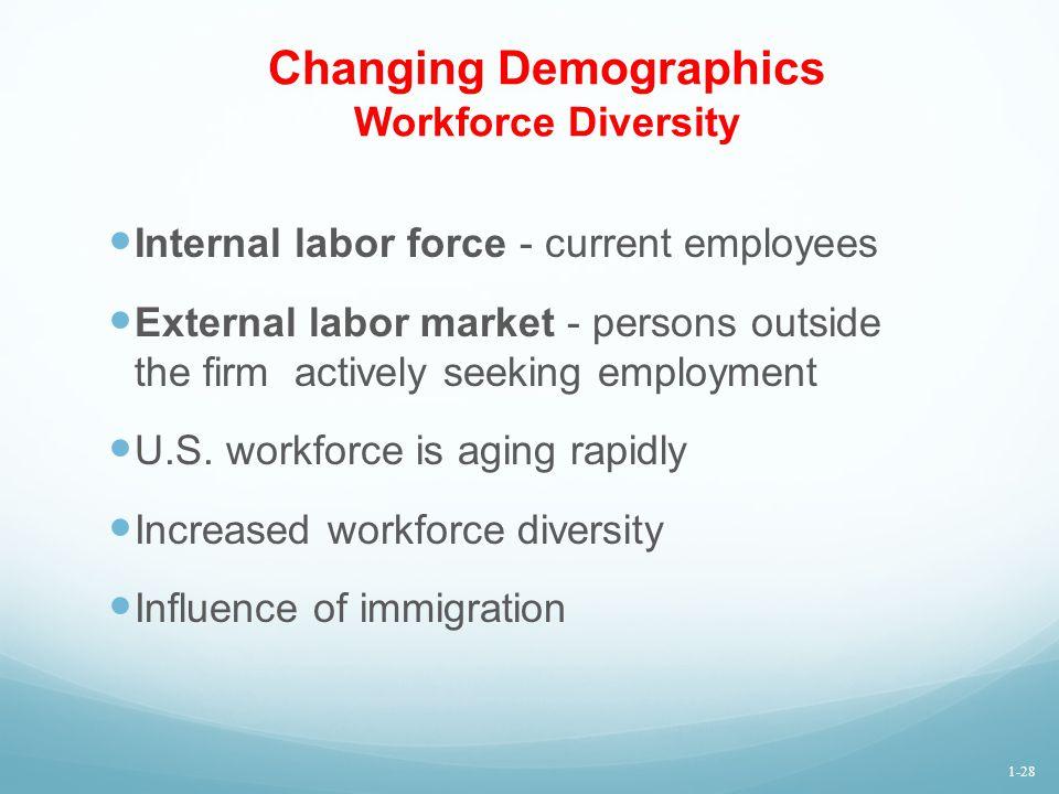 Changing Demographics Workforce Diversity