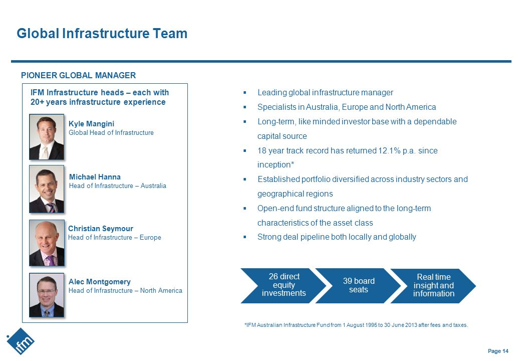 Global Infrastructure Team