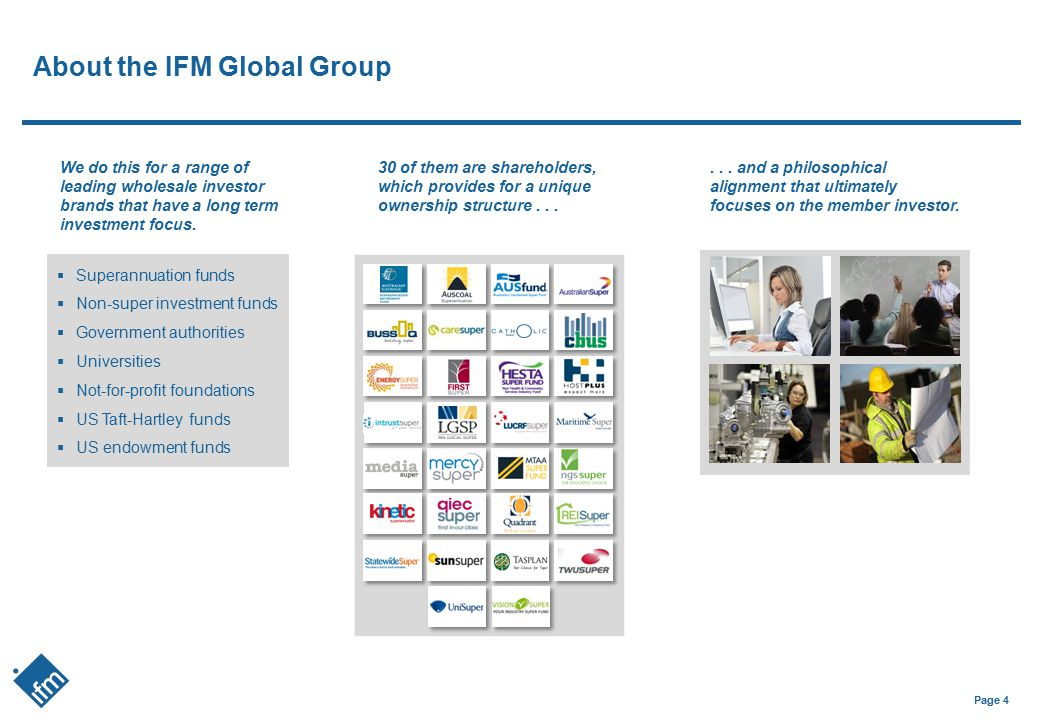 About the IFM Global Group