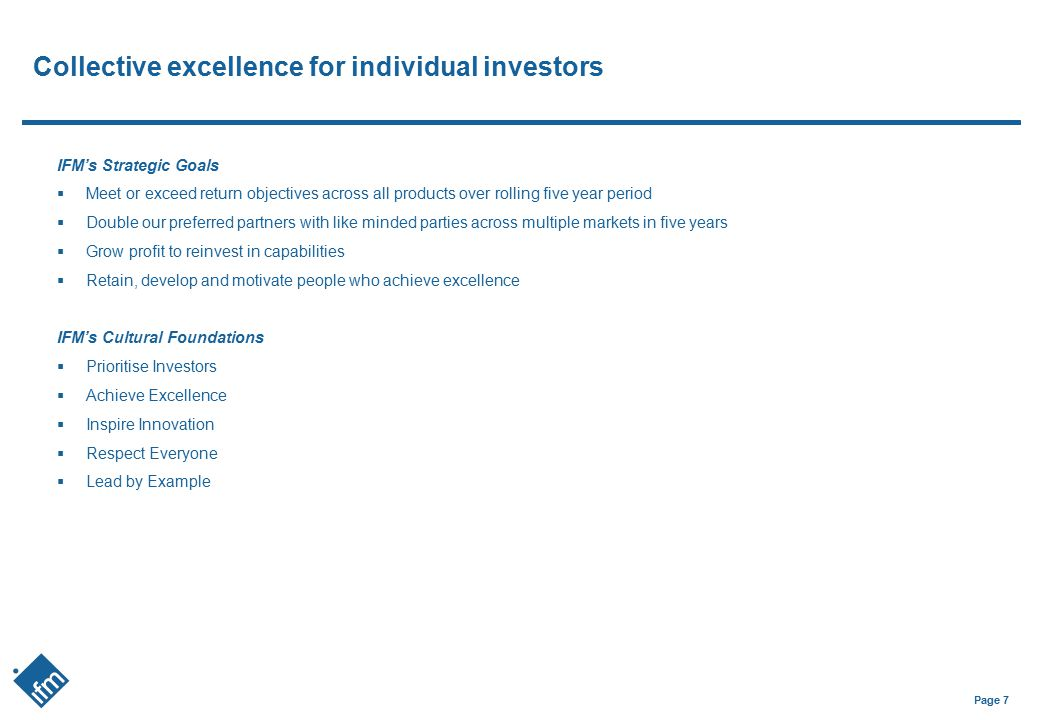 Collective excellence for individual investors