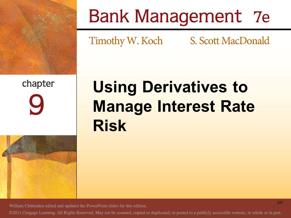 Using Derivatives to Manage Interest Rate Risk