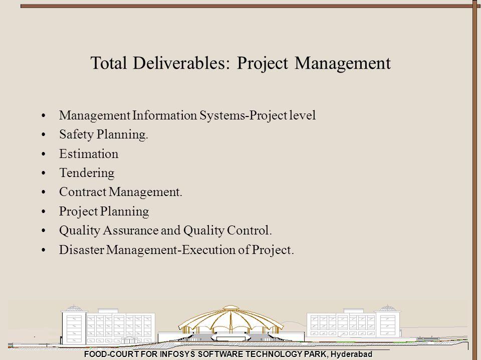 Total Deliverables: Project Management