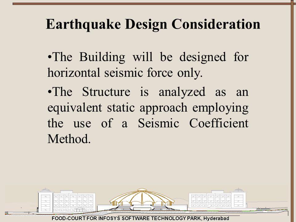 Earthquake Design Consideration